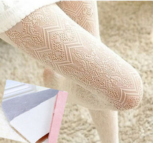 Ladies-Romantic-Japanese-Lolita-Soft-Fishnet-Zig-Zag-Mesh-Lace-Zigzag-Tights