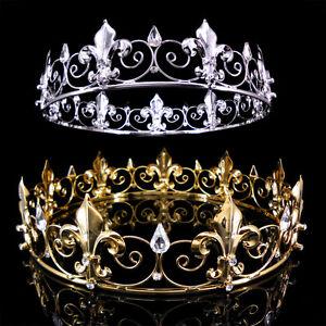 Mens imperial medieval fleur de lis king crown 5cm high 18cm image is loading men 039 s imperial medieval fleur de lis thecheapjerseys Image collections