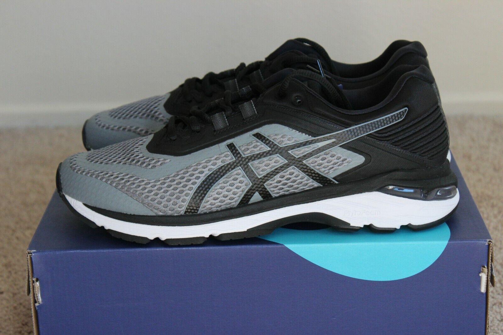 ASICS GT-2000 6 para hombres Zapatos tenis De Correr gris Negro blancoo