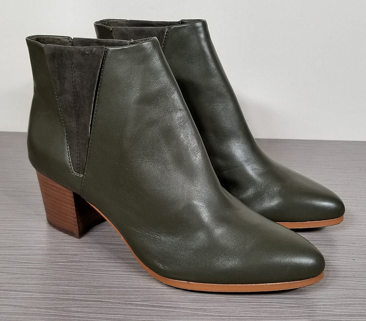 Vince Camuto Brissa Dress Booties, Tornado Leather, Womens Various Sizes