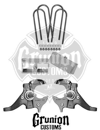 Gmc Sonoma 23 Drop Kit Spindles Blocks Mcgaughys 33104 For Sale