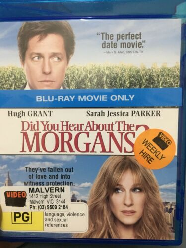 1 of 1 - Did You Hear About The Morgans ex-rental blu ray (2009 Hugh Grant comedy movie)