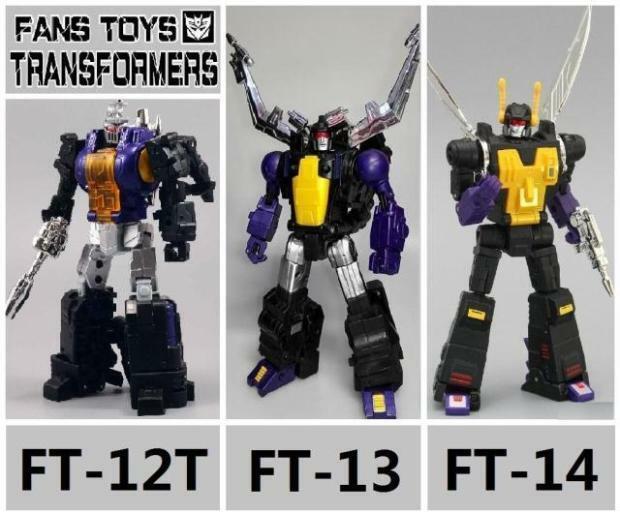 En Stock Fans Toys FT-12 FT-13 FT-14 contragolpe Bombshell insectos máquina pistolas
