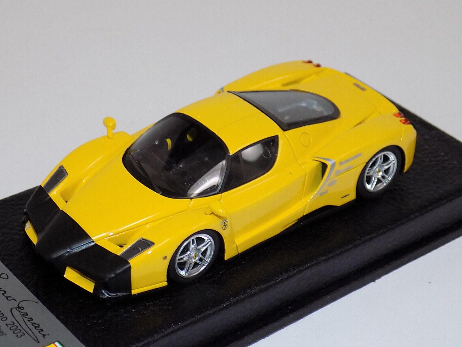 1 43 BBR Ferrari Enzo test Fiorano from 2003  in Yellow  BBR 150 D  GP155