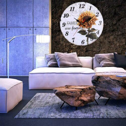 European Creative Wall Clock Hanging Living Room Bedroom Home Offices Decor Gift