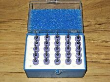 #77 (.018) CIRCUIT BOARD CARBIDE DRILL BITS NEW TECH TOOL Resharpened LOT OF 25