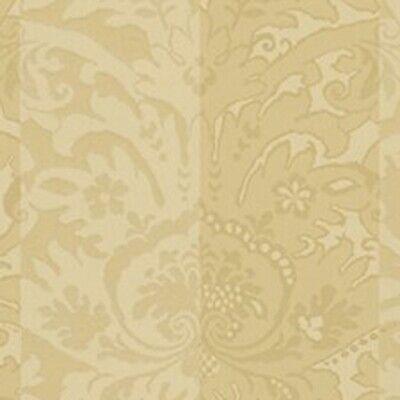 Double Roll of Ralph Lauren Orang Textured Wallpaper Erin Herringbone ~ Marigold