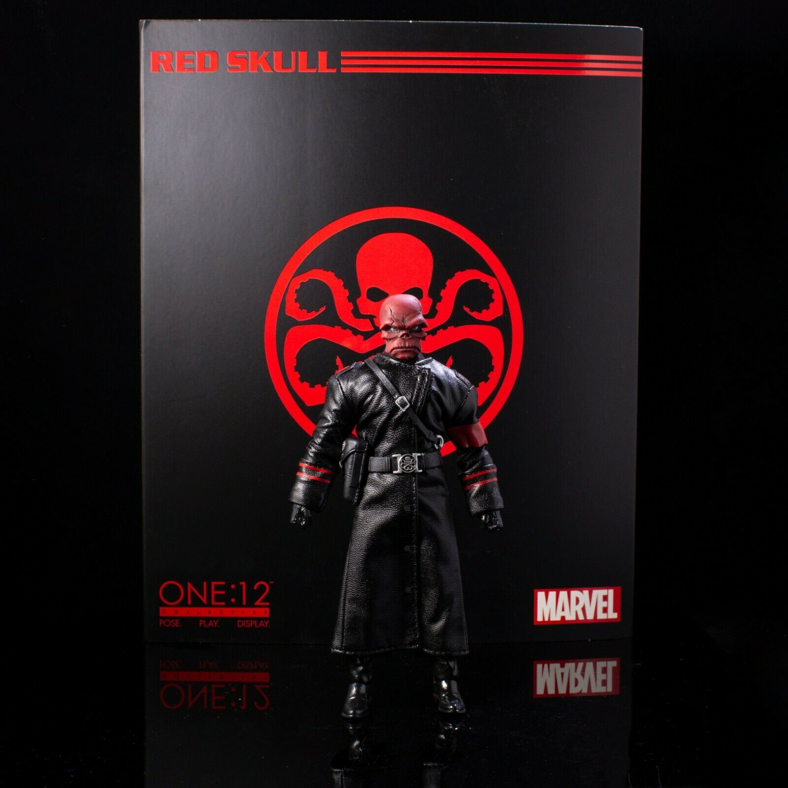 MARVEL BRAND NEW 6in Action Figure AUTHENTIC MEZCO One:12 Collective Red Skull