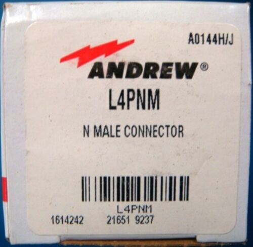 """Andrew L4PNM 1//2/"""" N Connector Male"""