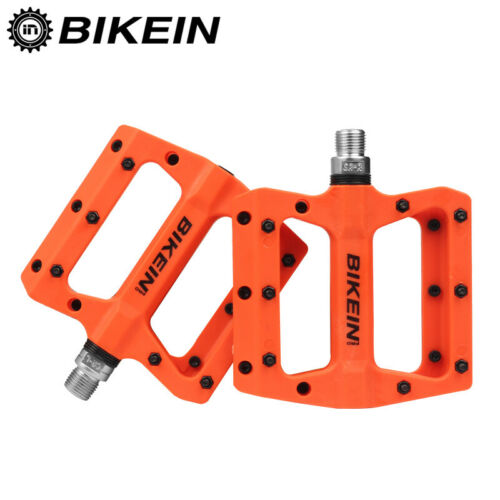 1 pair Multi-Colors BMX MTB Sports Bike Pedal BIKEIN Cycling Pedal Flat us stock