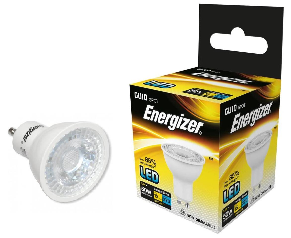 X 20 Energizer 5w (=50w) Led GU10 Lampadina Faretto Faretto Faretto - 36°,Luce Bianca (6500k) e337ef