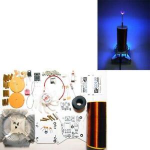 Music Tesla Coil Plasma Speaker Wireless Transmission sound Solid Power DIY Kit