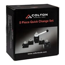 Colton 5 Piece Axa Machinist Set Wedge Style Tool Post Amp 1xl 2xl 4 7
