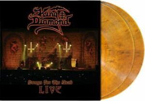 King Diamond – Songs For The Dead Live  NEW 2lp Amber colour Vinyl new in seal