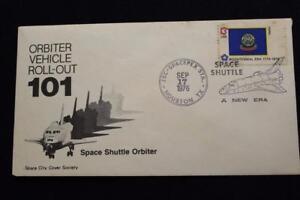 Sccs-Espacio-Cubierta-1976-Mostrar-Cancelado-Lanzadera-Orbiter-Rueda-Palmdale
