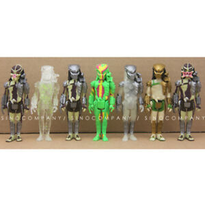 New-Lot-7PCS-FUNKO-Predator-ReAction-3-75in-Stealth-Masked-Open-Figure-Toy-Gift