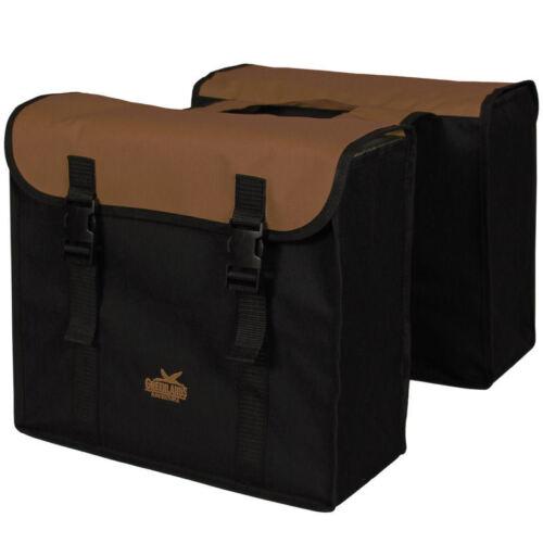 Doble pack bolsa Greenlands-negro//marrón