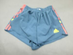 Adidas-Size-S-Womens-Gray-Athletic-AdiStar-Running-Sport-Lined-Track-Shorts-804