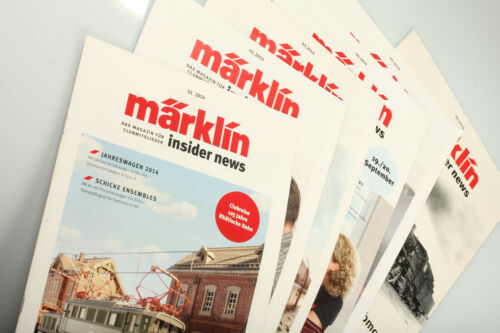 Märklin INSIDER CLUB NEWS vintage 2014 Issues 16 Used Condition DefectsDirt
