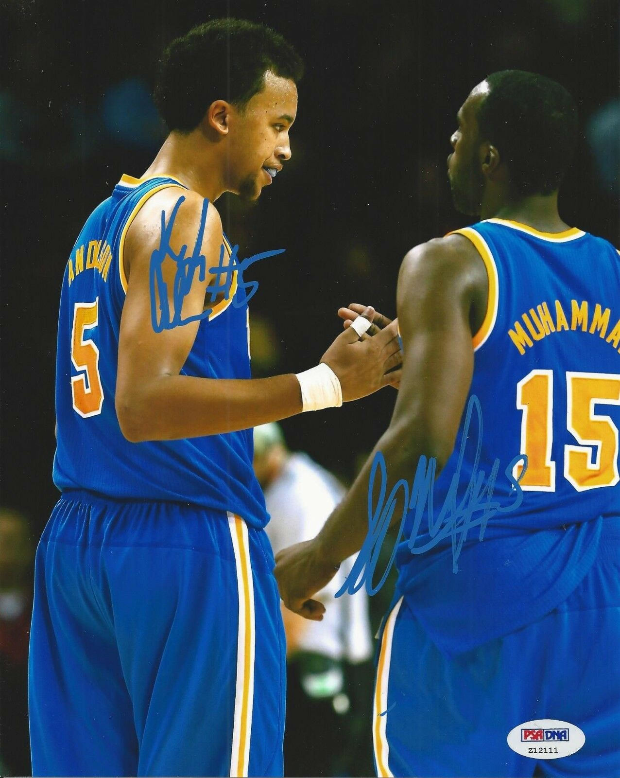 Kyle Anderson & Shabazz Muhammad Signed UCLA Bruins 8x10 photo PSA/DNA # Z12111