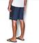 Under Armour RIGID navy blue aqua logo board shorts swim trunk 30 32 34 36 38 40