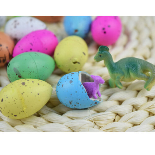 Child Toys 6pcs Cute Inflatable Dino Dinosaur Eggs Growing Hatching Add Water