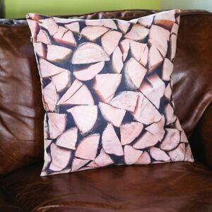 Log effect cushion