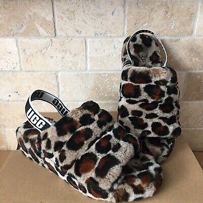 buy \u003e leopard ugg slides, Up to 60% OFF