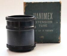 Hanimex Extension tube set for Praktica, Pentacon & Edixa (Boxed)
