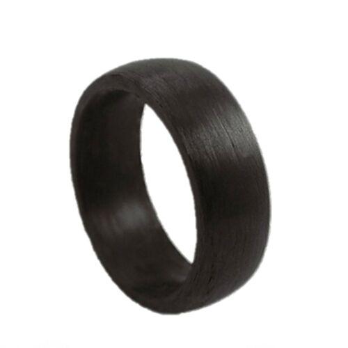Glanzwelten Herren Carbon Ring schwarz RC03 Carbon Ring für Damen und Herren
