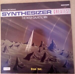 """Star Inc. – Synthesizer Greatest - The Inter-Galactic Mix single LP 12"""""""