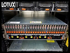 EMC-VNX-CA-VNX5400-VNX2-SAN-8G-FC-22x-600GB-10K-3x-200GB-FLASH-SSD-100-Working