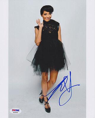 Television Kat Graham Signed 8x10 Photo Bonnie The Vampire Diaries Psa/dna Autographed Entertainment Memorabilia