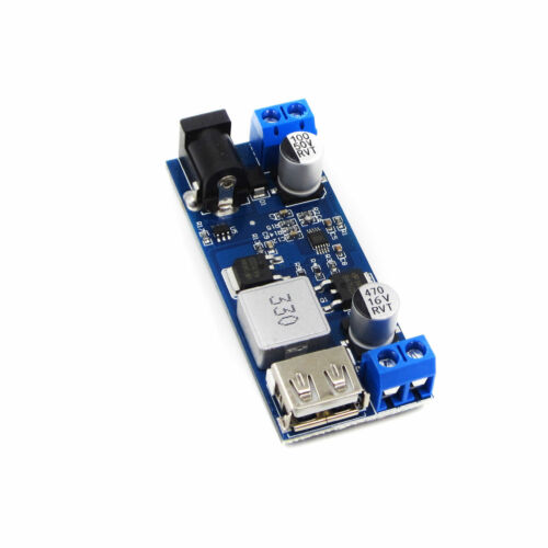 DC-DC 24V//12V To 5V 5A Step Down Power Supply Converter Replace USB Charging Mod