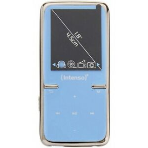 Intenso Video Scooter 8GB 3717464 blau MP3 Videoplayer 4,5cm 1,8 Zoll
