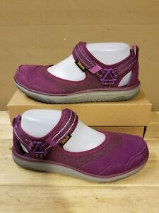 a9099b7045a9 TEVA Terra Float Travel Mary Jane s Dark Purple women s shoes size ...