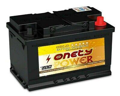 Batterie 95Ah ONETY95 750A 12V 95Ah Batterie démarrage