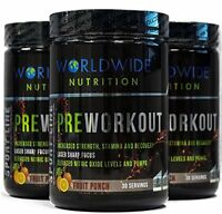 Worldwide Nutrition Sport Line Pre Workout 30 Servings