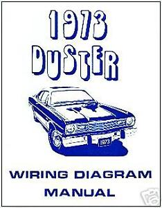 details about 1973 plymouth duster wiring diagram manualduster, valiant, scamp wiring diagram