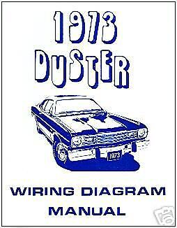 1973 PLYMOUTH DUSTER WIRING DIAGRAM MANUAL | eBay