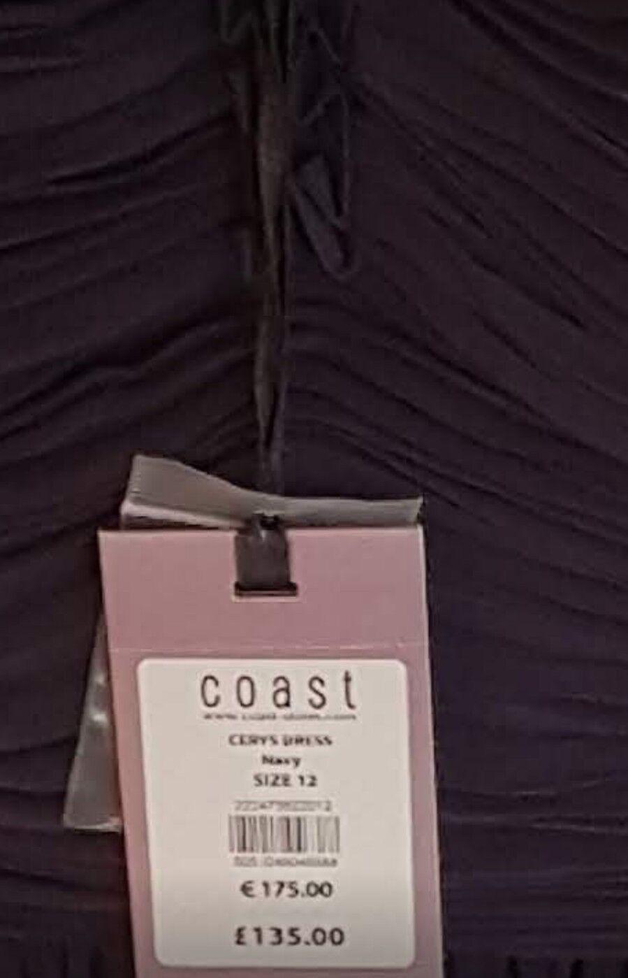 DONNA donna ceryn Coast Coast Coast Abito NUOVO CON ETICHETTE TAGLIA 12 RRP 5f3baf