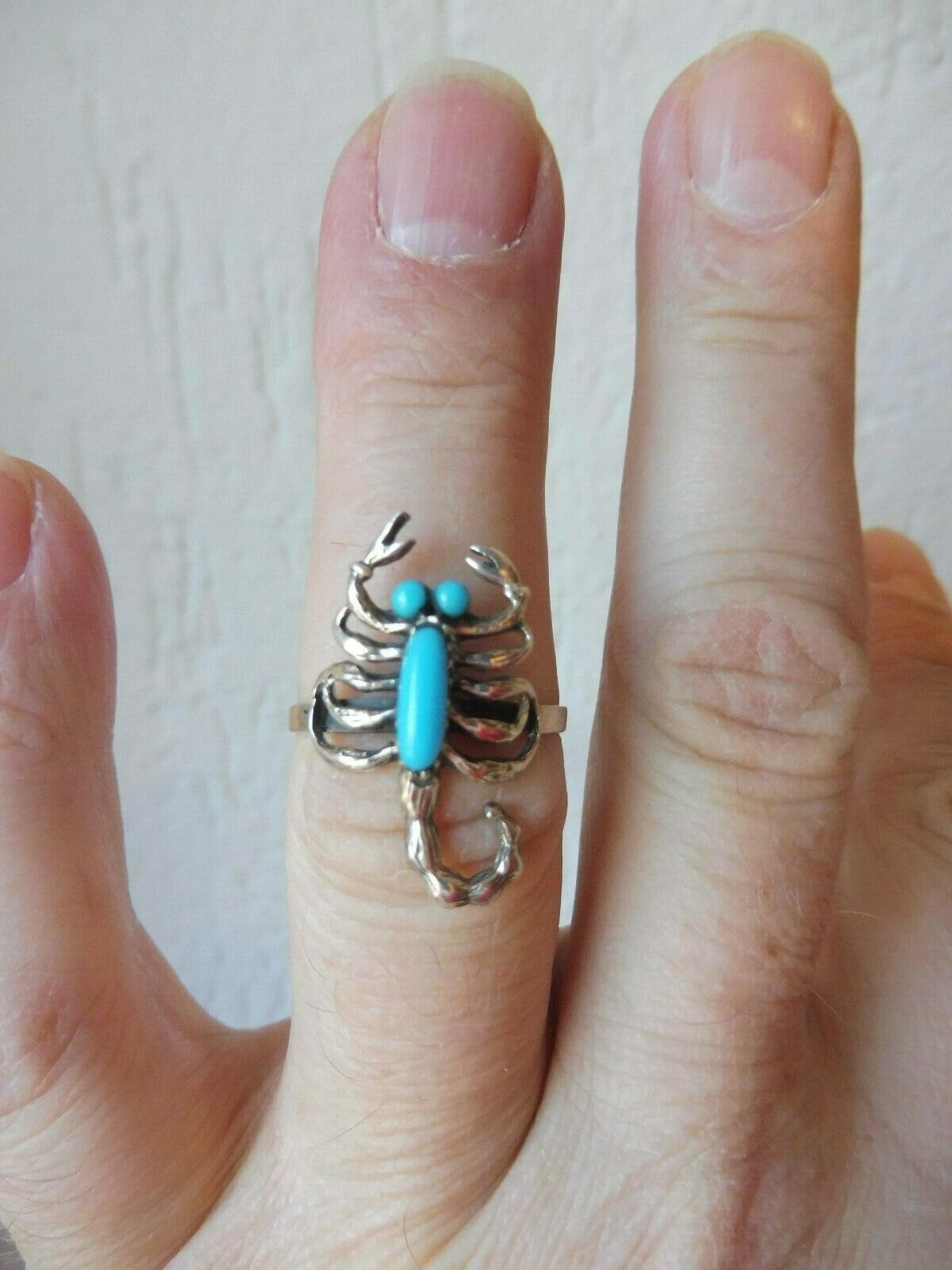 Belle Bague __Scorpion__ silver 925 __Turquoise __