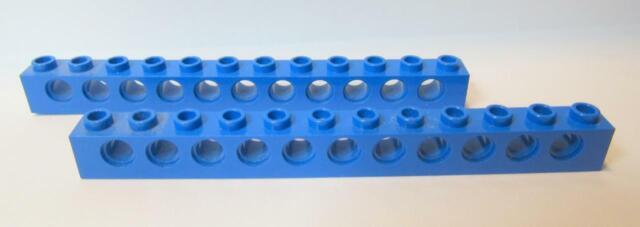 Lego 10x Technic Light Bluish Grey Brick 1x12 3895 NEW!!!