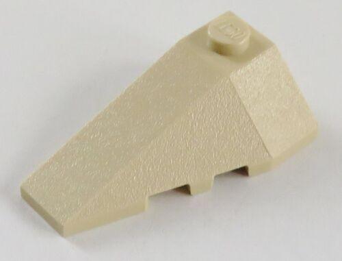 beige # 43710 LEGO Ecke / Wedge 4 x 2 links 2 Stück