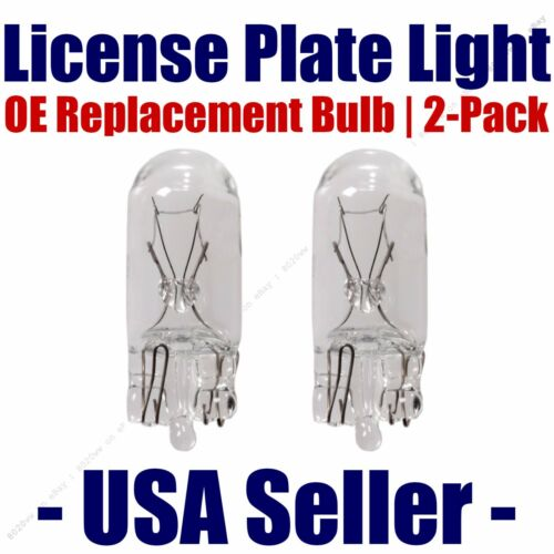 License Plate Bulb 2pk OE Replacement Fits Listed Buick Vehicles 2825