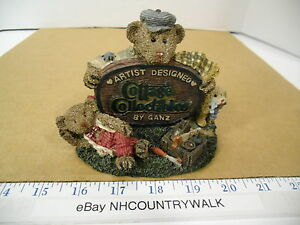 1995 Artist Designed Cottage Collectibles by Ganz A Job Well Done - EUC