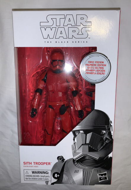 Star Wars The Black Series Sith Trooper Rise of Skywalker 6-inch First Edition