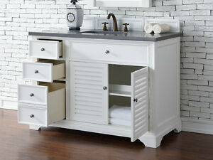 Image Is Loading 48 034 James Martin Savannah White Single Bathroom