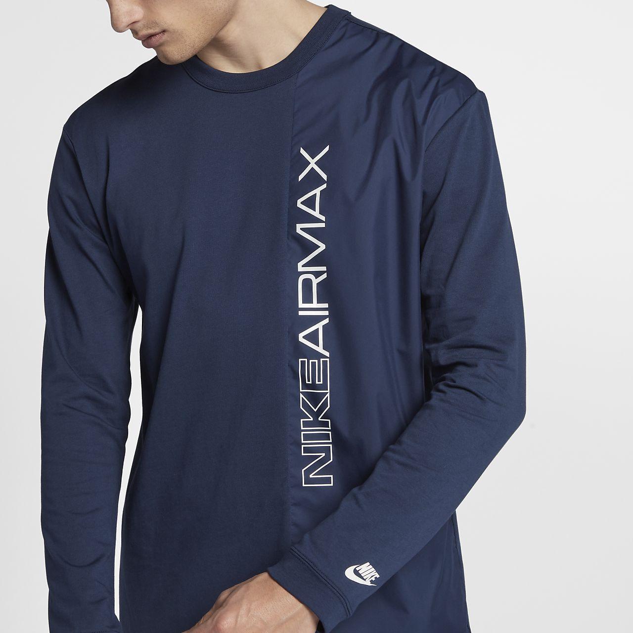 Nike Sportruházat NIKE AIR MAX hosszú ujjú pulóver Air Max 1,90,95,97,98,180,270