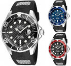 Invicta Men's Pro Diver 200m Quartz Stainless Steel Black Polyurethane Watch